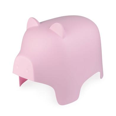 Balvi Taburete Piggy color rosa Con forma de cerdito Reposapies Para interior y exterior