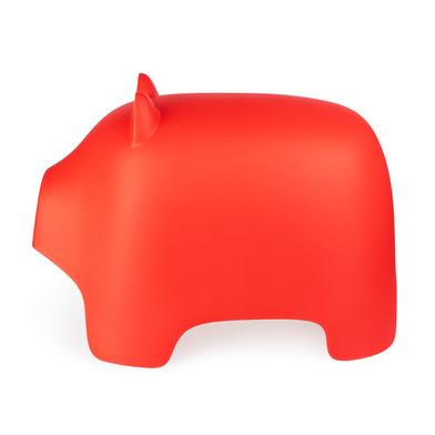 Balvi Sgabello Piggy Colore rosso A forma di maiale