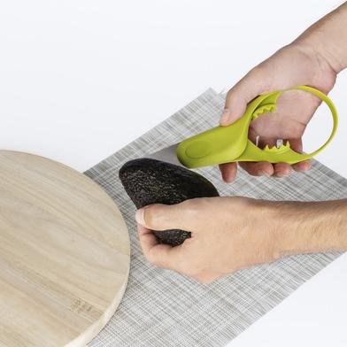 Balvi Utensile avocado MrAvocado Colore verde strumento multiuso Plastica PP 22,5 cm