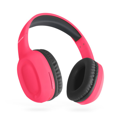 alvi Cascos Bluetooth Pantone Color rosa Inalámbrico (hasta 10m) o con cable (incluido) Función entr