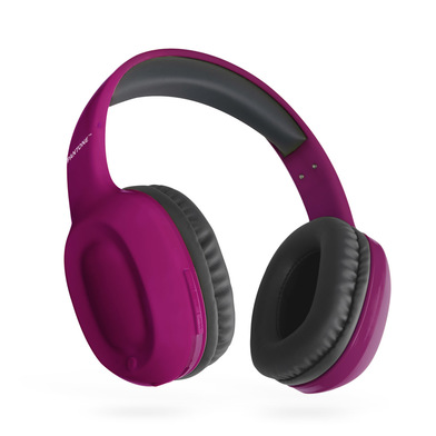 alvi Headphones Bluetooth Pantone Purple colour Wireless (up to 10m) or cable (included) incoming ca