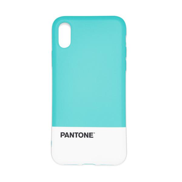 Balvi iPhone X/XS case Pantone Turquoise colour nice textured feel ABS plastic