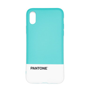 Balvi Funda iPhone X/XS Pantone Color turquesa Textura agradable al tacto Plástico ABS