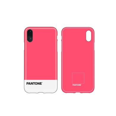 Balvi iPhone X/XS case Pantone Pink colour nice textured feel ABS plastic