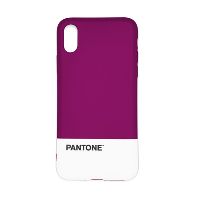 Balvi Funda iphone X/XS Pantone Color púrpura Textura agradable al tacto Plástico ABS