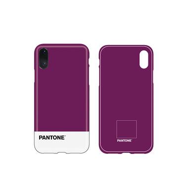 Balvi iPhone X/XS case Pantone Purple colour nice textured feel ABS plastic