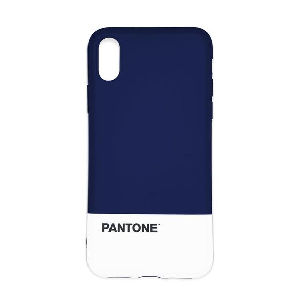 Custodia iPhone X/XS Pantone navy blu-27076