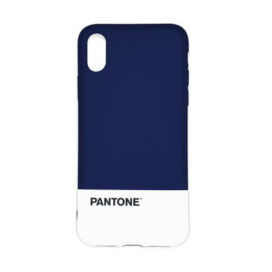 Balvi Funda iphone X/XS Pantone Color azul marino Textura agradable al tacto Plástico ABS