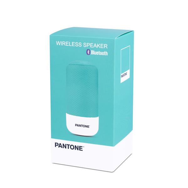 alvi Altavoz Bluetooth Pantone Color turquesa Inalámbrico (10-15m) o con cable (incluido) 3W Función