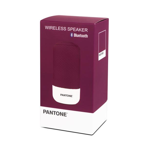 alvi Altavoz Bluetooth Pantone Color púrpura Inalámbrico (10-15m) o con cable (incluido) 3W Función