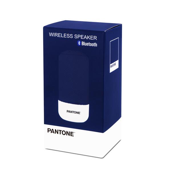 alvi Altavoz bluetooth Pantone Color azul marino Inalámbrico (10-15m) o con cable (incluido) 3W Func