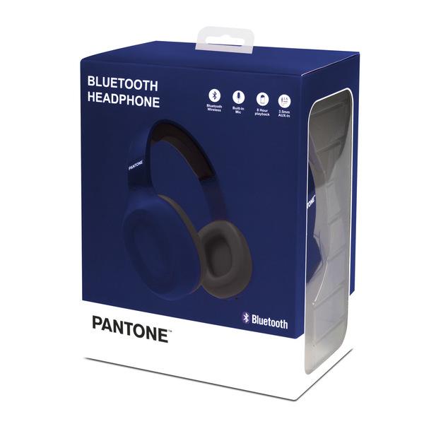 alvi Cascos Bluetooth Pantone Color azul marino Inalámbrico (hasta 10m) o con cable (incluido) Funci