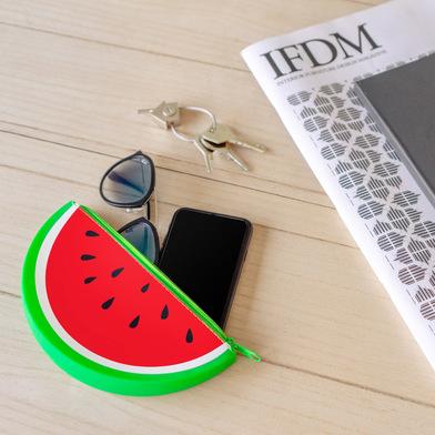 Balvi Astuccio multiuso Watermelon Cerniera Con forma di frutta Silicone 19cm