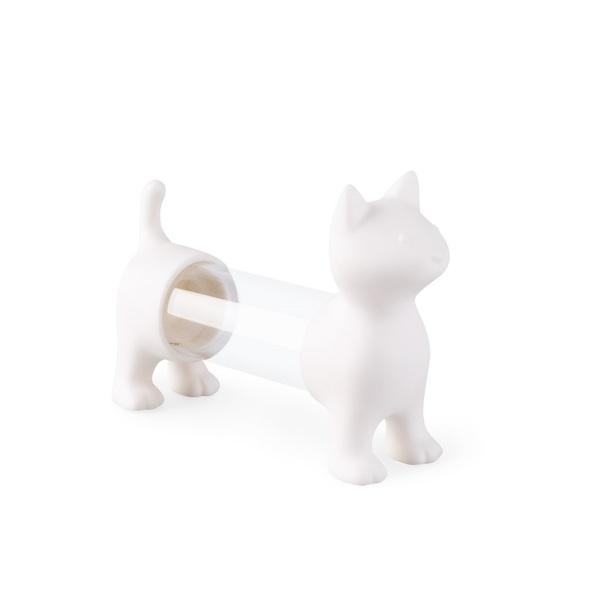 Balvi Tpick holder & salt&pepper shaker Cat White colour Shaped cat Acrylic/PVC plastic