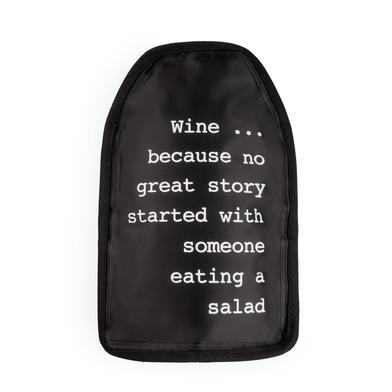 Balvi Great Story Raffredda vino Nero Nylon