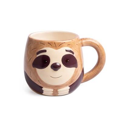 Balvi Mug Sloth Taza con cara de perezoso Capacidad: 500ml Cerámica