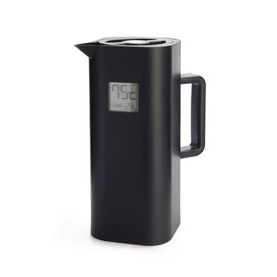 alvi Termo digital Home Color negro 1 L Con pantalla LCD Temperatura interior y exterior Cierre herm