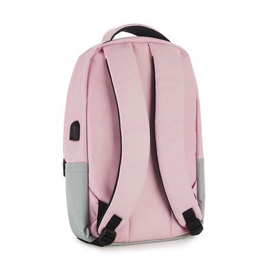Balvi Zaino Pantone Colore rosa Con il cavo USB per computer portatile Poliestere 44 cm