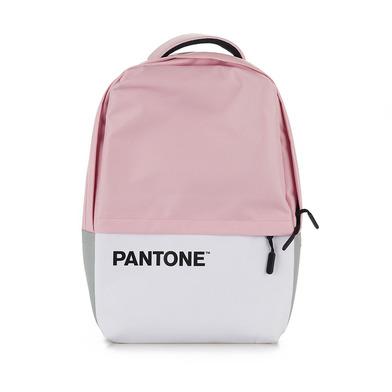 Balvi Mochila Pantone Color rosa Con cable USB Con bolsillo para ordenador portátil Poliéster 44 cm