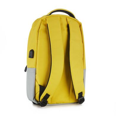 Balvi Zaino Pantone Colore giallo Con il cavo USB per computer portatile Poliestere 44 cm
