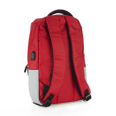 Balvi Zaino Pantone Colore rosso Con il cavo USB per computer portatile Poliestere 44 cm