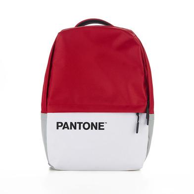 Balvi Mochila Pantone Color rojo Con cable USB Con bolsillo para ordenador portátil Poliéster 44 cm