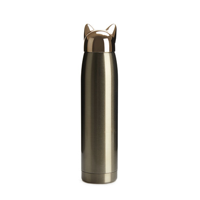Balvi Thermo Cat Golden colour 320 ml Shaped cat seal Stainless