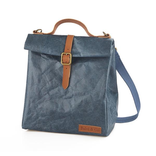 alvi Bolsa térmica Fresh Color azul Con asa y cinta regulable Para transportar la fiambrera, táper y