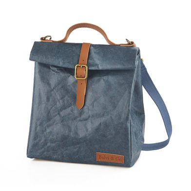 alvi Thermobag Fresh Blue colour With handle and adjustable strap For carrying the lunchbox and food