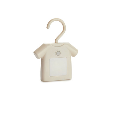 Balvi Luz T-Shirt Color beige Con sensor de movimiento Luz auxiliar con imanes Plástico ABS/PS