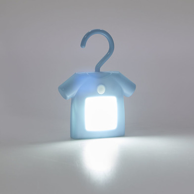 Balvi Luz T-Shirt Color azul Con sensor de movimiento Luz auxiliar Con imanes Plástico ABS/PS