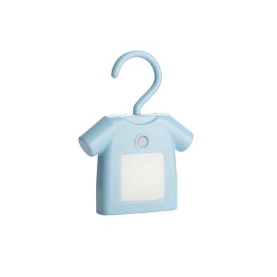 Balvi Luz T-Shirt Color azul Con pinza Con cable USB Plástico ABS/PS