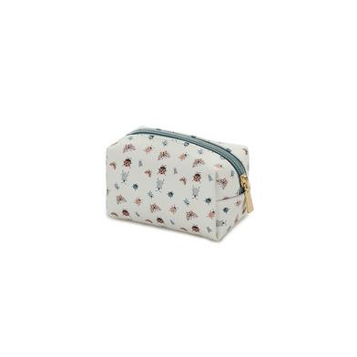 alvi Mini bolsa cosméticos Bugs Color verde Con cremallera Para llevar maquillaje, objetos pequñeos,