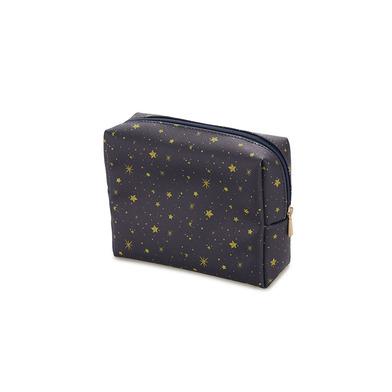 alvi Bolsa cosméticos Starry Color azul marino Con cremallera Ideal para llevar maquillaje y otros c