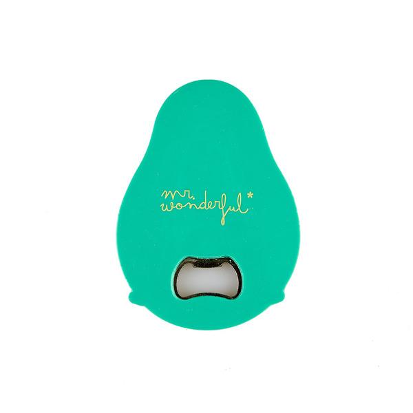 Balvi Abrebotellas MrWonderful Avocado Magnético Con forma de aguacate Plástico