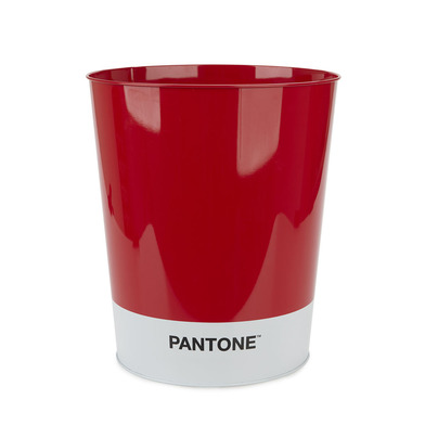 alvi Wastebasket Pantone Red colour Recycling bin for office and home Stationery product of modern d