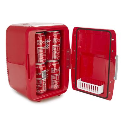alvi Nevera Drinks Color rojo Mini nevera portátil Matiene sus alimentos o bebidas a la temperatura