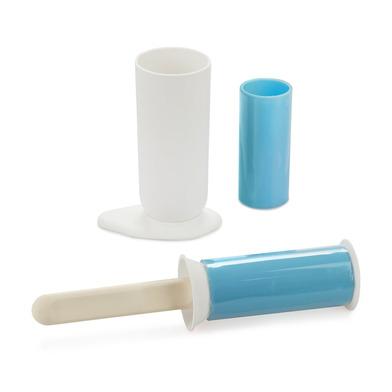 alvi Rodillo quitapelusa Gelato Panna Color blanco Rodillo quitapelos reutilizable Divertido quita p