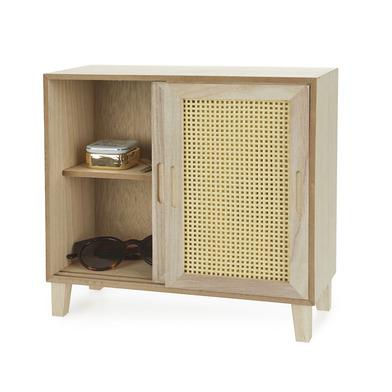 alvi Organizador Cabinet Color madera DM para gafas, joyas, bisutería, pendientes, pulseras Objeto d