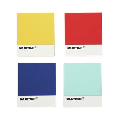 alvi Posavasos Pantone posavasos antideslizante Juego de 4 Diseño original marca Pantone Regalo idea