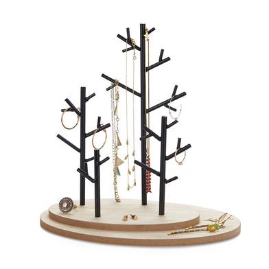 alvi Soporte joyas Autumn Color madera Expositor de Joyas en forma de Árbol para Joyas de Metal y Ma