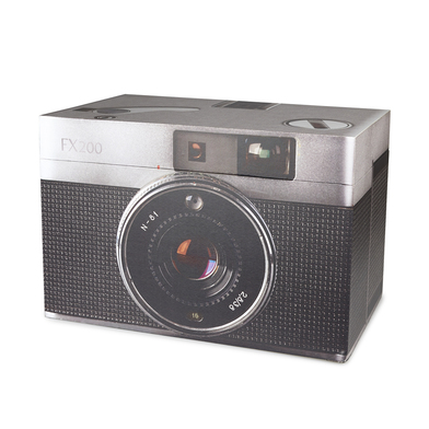 alvi Storage box Vintage Gray colour Original and beautiful container storage shaped vintage camera
