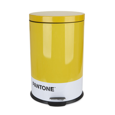 alvi Garbage can Pantone Yellow colour 20L bucket capacity for kitchen, bedroom or office with Pedal