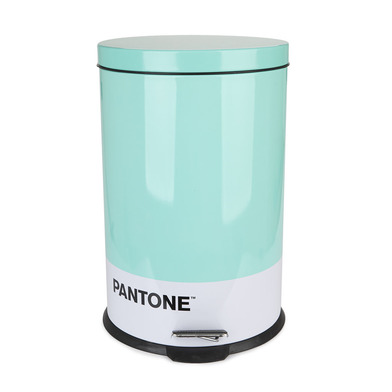 alvi Garbage can Pantone Turquoise colour 20L bucket capacity for kitchen, bedroom or office with Pe