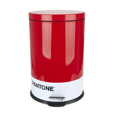 alvi Pattumiera Pantone Colore Rosso Bidone di 20L di capacità per la cucina, camera da letto o l'uf