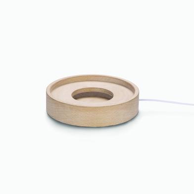 Base madera LED circular-R3091