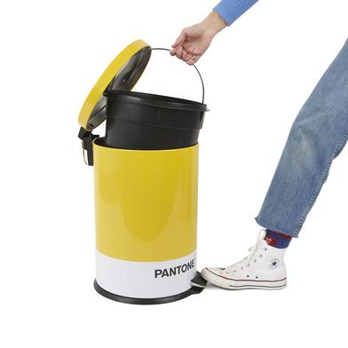 alvi Cubo basura Pantone Color amarillo Cubo de 20L de capacidad para cocina, habitación u oficinas