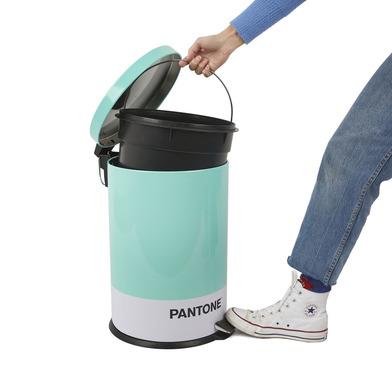 alvi Cubo basura Pantone Color turquesa Cubo de 20L de capacidad para cocina, habitación u oficinas