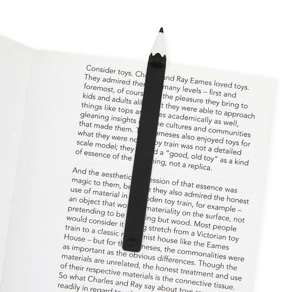 Balvi Segnalibro Globetrotter Colore Nero Prodotti di cancelleria con la Forma di Una Mongolfiera per i Lettori e Gli Studenti Nylon//plastica