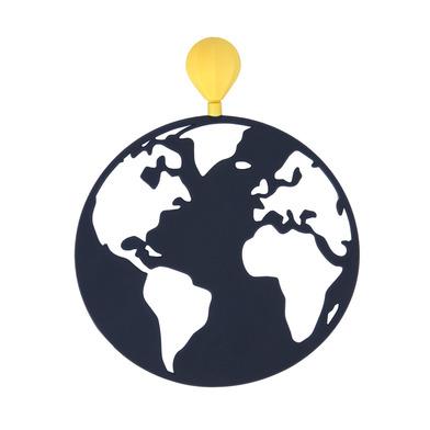 alvi Marcapáginas Globetrotter Color negro Original producto de papelería En forma de globo aerostát